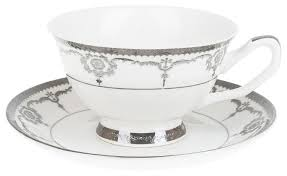 "<b>Best Home</b> Porcelain <b>Чайная пара</b> ""Rochelle"" 200 мл (подарочная ..."