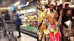 Chiara Ferragni, festa a sorpresa a Fedez in un supermercato. Bufera sul web: «Quanto cibo sprecato»