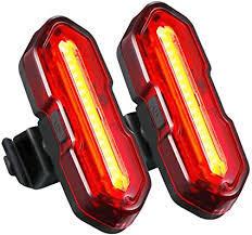 USB Rechargeable LED <b>Bike Light</b> Set,TOPELEK Ultra-Bright 2 LED ...