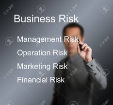 business man writing four type of business risk management stock stock photo business man writing four type of business risk management operation marketing financial on whiteboard