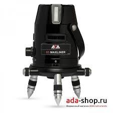 <b>Нивелир</b> лазерный <b>ADA 6D</b> MAXLINER А00138 - Лазерные ...