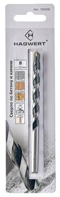 Сверло по <b>бетону Hagwert</b> 506006 6 x 100 мм купить по цене 24 ...