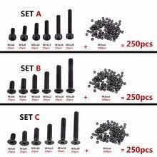 Online Shop Hot 440pcs/set M3 M4 <b>M5</b> Alloy Steel Hex Socket flat ...