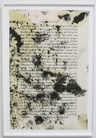 images about glenn ligon on pinterest   contemporary art    glenn ligon turns his well worn copy of james baldwin    s essay      stranger