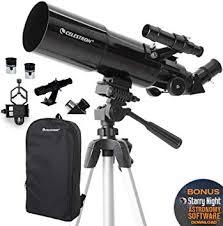 Celestron - 80mm Travel Scope - Portable Refractor ... - Amazon.com