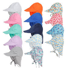 <b>Summer Baby Sun</b> Hat Children Outdoor Neck Ear Cover Anti <b>UV</b> ...