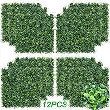 <b>Artificial</b> Boxwood Panels <b>Topiary Hedge Plant</b>, Privacy <b>Hedge</b>...