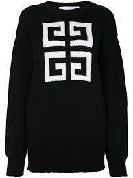 Givenchy <b>Knitted Pattern</b> Jumper Ss20 | Farfetch.Com