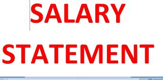 salary statement l basic salary l pf l esi salary statement l basic salary l pf l esi