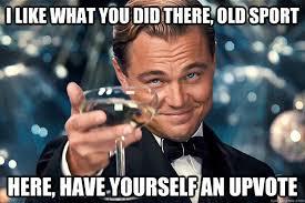 Upvote Gatsby memes | quickmeme via Relatably.com