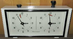The double-flag chess clock, a timer for games with ... - Johan Wästlund