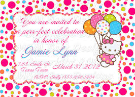 th birthday ideas birthday invitation templates hello kitty hello kitty invitation birthday party birthday party invitations