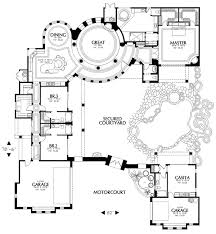 images about H fp courtyard on Pinterest   Mediterranean       images about H fp courtyard on Pinterest   Mediterranean house plans  Courtyards and Floor plans