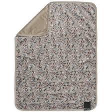 <b>Плед Elodie Velvet vintage</b> flower 75х100 см - Акушерство.Ru