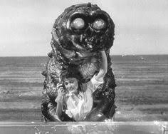 Image result for images of the movie the monster that challenged the world
