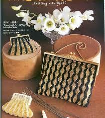 Сумка вязаная из бисера Схемы плетения из бисера своими ...