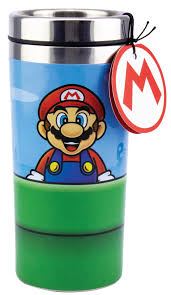 <b>Термокружка Paladone Super Mario</b> - Warp Pipe Travel Mug 450 ml ...