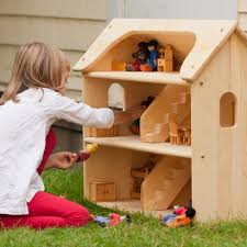 seris wooden dollhouse brand baby wooden doll house