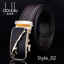 <b>Fashion Brand Cowskin Belt</b> Genuine Leather Alloy Luxury Belt For ...
