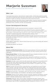 Resume Resume Samples   VisualCV Resume Samples Database VisualCV