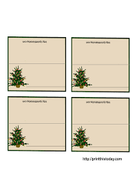 printable christmas tree place cards holiday printable christmas tree place cards