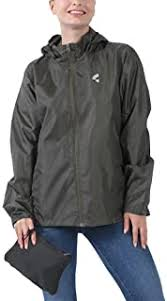 THE PLUS PROJECT Womens Waterproof Lightweight <b>Plus Size</b> ...