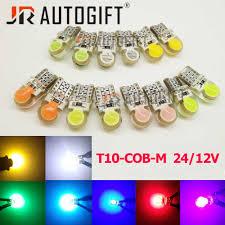 <b>10PCS</b> Car Styling Car Auto LED <b>T10</b> Canbus 24V 12V <b>194</b> W5W 6 ...