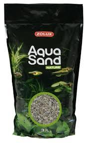 <b>Грунт</b> ZOLUX Aquasand Nature Quartz Gros 3 л, 4.2 кг — купить по ...