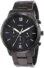 Buy Fossil Neutra <b>Chrono</b> Analog Black Dial <b>Men's Watch</b> - FS5474 ...