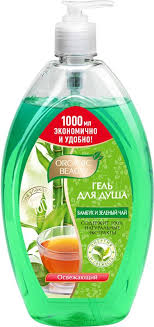 Organic Beauty Гель для душа <b>Освежающий</b> бамбук и <b>зеленый</b> ...
