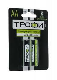 Отзывы: <b>Аккумулятор Трофи</b> HR6-2BL <b>2100 mAh</b> 2шт - отзывы ...