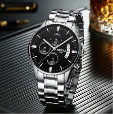 2019 <b>NIBOSI Luxury Brand</b> Watches Men Fashion Sport Military ...
