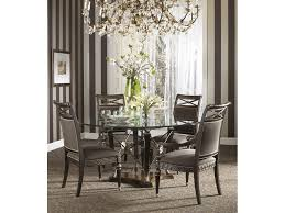 Glass Dining Room Tables Round Round Glass Dining Room Table Feedmymind Interiors Furnitures Ideas