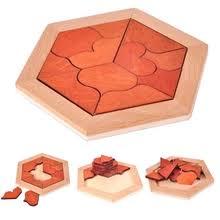 geometric <b>flower puzzle</b>