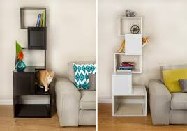 modern cat tree and climbing shelves from designer pet products hauspanther cat furniture modern