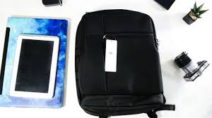 Xiaomi <b>Mi</b> Classic <b>Business Backpack</b> - Hands-On Review - YouTube