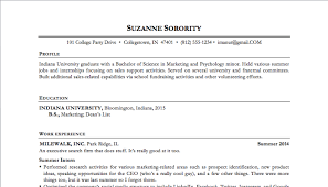 Examples Of Completed Resumes  sample standard resume format