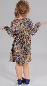 <b>Платье Fleur de Vie</b> 24-1480 рост 134 хаки купить в интернет ...