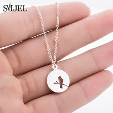 SMJEL <b>Boho Bird</b> Accessories Chain Bird Animal Necklace With ...