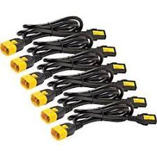 <b>APC</b> by Schneider Electric <b>Power Cord</b> Kit (6 ea), Locking, C13 to ...