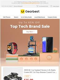 gearbest ES: End Of October Markdowns | Goodbye October, Hello ...