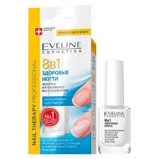 <b>Средство для регенерации</b> ногтей `EVELINE` 8 в 1 здоровые ...