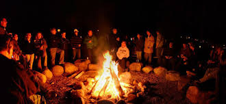 Image result for PICTURE OF CAMP FIRE