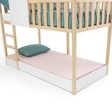<b>Кровать детская</b>, sebara белый/дерево <b>La Redoute</b> Interieurs | La ...