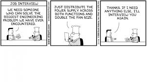 warm up your job search summer networking recruiting in motion dilbert job cartoon