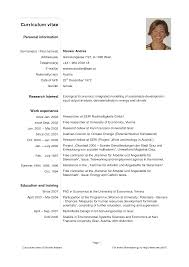entry level resume templates  CV  jobs  sample  examples  free     happytom co Curriculum Vitae Template