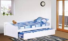 bedroom decoration using black and white stripe rug in bedroom along with blue tartan girl bed sheet and white wood ikea pop pup trundle bed frame image bedroombeauteous furniture bedroom ikea interior home