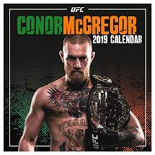 <b>Conor</b> McGregor Official <b>Notorious</b> UFC 2019 Calendar (30cm x ...