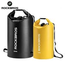 ROCKBROS Waterproof Sport Bag <b>25L</b> Beach Bag Swimming <b>PVC</b> ...
