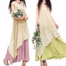 7 Colors <b>S</b>-<b>5XL</b> 2018 Women's <b>Dress</b> Mini Sleeve Vintage Linen ...
